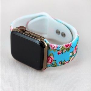Rose Floral Apple Watch Band